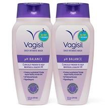 Vagisil Feminine Wash pH Balanced, Daily Intimate Vaginal Wash, 12 ounce Pack of