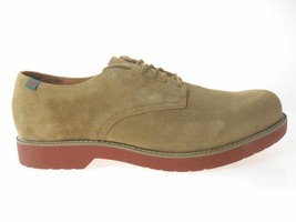 SCHOOL ISSUE SEMESTER MEN'S TAN DIRTY BUC OXFORD SHOES Size 9.5 WIDE(W) - $49.99