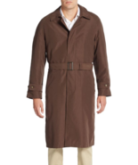 Lauren By Ralph Long Trench-Coat Bruns Homme 42-r Over Polo Pluie 4-button - $299.22
