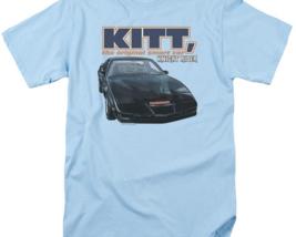 Knight Rider KITT the original smart car retro 80's TV series graphic tee NBC555 image 3