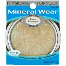 Physicians Formula Mineral Wear Face Powder- #3835 Translucent ~ New - $8.90
