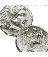 Alexander The Grand Argent Tetradrachm Herakles Ancien Grec Pièce Babylo... - $674.09