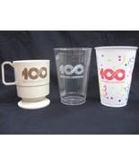 10 Sets of 3 Coca Cola 100th Anniv. Cups - $34.65