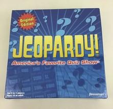 Jeopardy Board Game Original Edition Quiz Show Pressman 2005 Sealed - $24.90