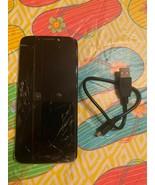 Motorola Moto G Play 6th Generation 32GB Deep Indigo Cracked - $49.49