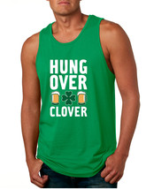 Men's Tank Top Hungover Clover St Patrick's Day Party Top - $14.94+