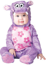 InCharacter Baby Girl's Huggable Hippo Costume, X-Small 0-6 Months, NWT - €10,43 EUR