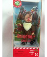 REINDEER Chelsie #50374 Kelly Club Christmas Doll and Ornament 2001, New... - $12.86