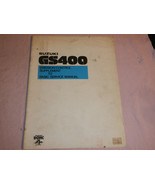 1978 78 SUZUKI GS400 GS 400 SUPPLEMENT SHOP SERVICE REPAIR MANUAL - $40.65