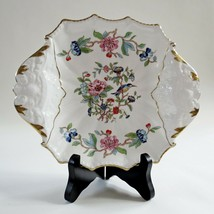 Pembroke reproduction 18th century Aynsley fine bone china England floral plate  - $39.59