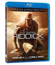 Riddick Unrated Director's Cut [Blu-ray + DVD]