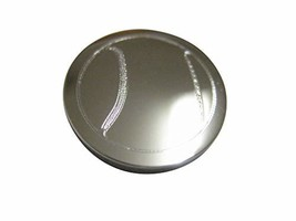 Kiola Designs Silver Toned Etched Round Tennis Ball Magnet - $19.99