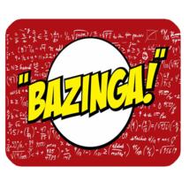 Mouse Pad Bazinga The Big Bang Theory The Popular Word For Anime Game Fa... - $81,61 MXN