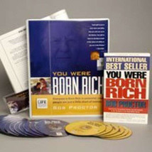 NEW Bob Proctor You Were Born Rich 6 DVD+15 CD (MSRP $595) SAVE $250 SEA... - $347.88