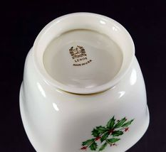 "LENOX China Holiday Dimension Treat Bowl Candy/Nuts 4-1/4"" Dinnerware image 4"