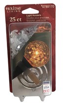 Holiday Living 25-ct Light Holders Dual Sided S clips Suction Cup Holders - $148,65 MXN