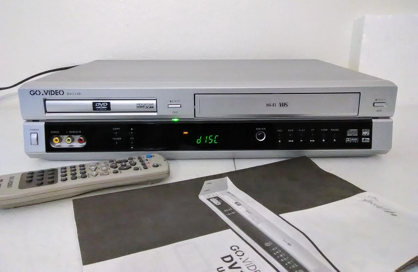 govideo dv1130 dvd vcr combo with original and 50 similar items rh bonanza com