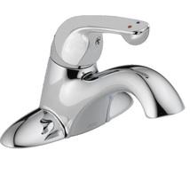 Delta 523LF-HDF Single Handle Centerset Lavatory Faucet, Chrome - $80.00