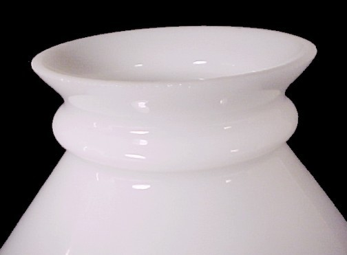 Milk Glass 6 inch Student Lamp Shade Whte Desk Table Pole Wall Chandelier Light