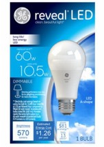 GE 60W Equivalent Reveal (2850K) A19 Dimmable LED Light Bulb - $12.20
