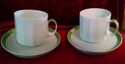 Primary image for ROSENTHAL Sunion set of 2 cups and saucers