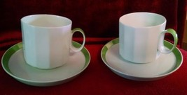 ROSENTHAL Sunion set of 2 cups and saucers - $9.85