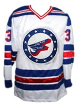 Spokane flyers retro hockey jersey white  1 thumb200