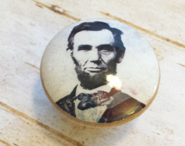 "Handcrafted Abraham Lincoln Knobs, President 1.5"" Cabinet Knob, Dresser ... - $5.94"