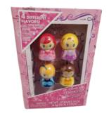 Disney Princess 4 Pack Flavored Lip Balm Ariel, Rapunzel, Cinderella, Belle - $13.85