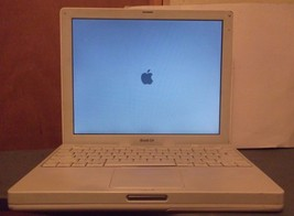 "Apple iBook A1054 12.1"" Screen 1.2GHz 768MB Ram 40GB HDD Mac OS X 10.5, Leopard - $39.90"