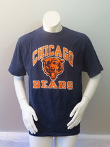 Chicago Bears Shirt (VTG) - Classic Logo with Arch Wording - Men's Large  - $45.00