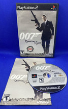 James Bond 007: Quantum of Solace (Sony PlayStation 2, 2008) PS2 CIB Complete! - $20.74