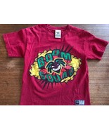 WWE Kofi Kingston Boom Squad T-Shirt New Day Rocks WWF Youth Medium - $14.25