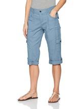 LEE Women's Relaxed Fit Skye Knit Waist Cargo Capri Pant - $39.26+