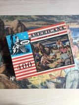 "Vintage 30s Jaymar Americana Puzzle- #4000 ""Beach Picnic"""