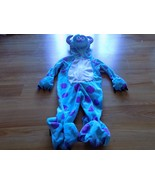 Infant Size 6-9 Months Disney Pixar Monsters Inc Sully Sulley Halloween ... - $35.00