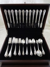 Grand Colonial by Wallace Sterling Silver Flatware Set For 12 Service 62 Pieces - $2,778.75