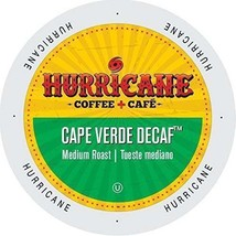 Hurricane Coffee Cape Verde Decaf Coffee 24 to 144 Keurig K cups Pick Any Size - $23.99+