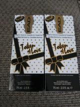 2x EAD Token of Love Women's Perfume Spray like Carolina Herrera 2.5 oz ea. NIB - $15.83