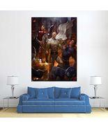 Wall Poster Art Giant Picture Print Saitama beat Superman 2379PB - $22.99