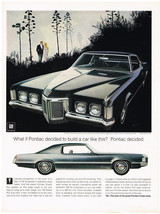 Vintage 1969 Magazine Ad Pontiac Grand Prix Rides Like It Was Designed T... - $5.93