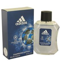 Uefa Champion League by Adidas Eau DE Toilette  3.4 oz, Men - $12.22