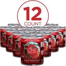 Purina ONE SmartBlend True Instinct Adult Canned Wet Dog Food, 13 Ounces, 12 Pak - $30.00