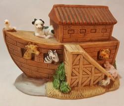 Homco Collectible Noah's Ark Bible Story Figurine Religious Home Decorative 1474 - $4.99