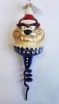 Christopher Radko Christmas Ornament Taz Warner Bros Character Tasmanian Devil - $78.21