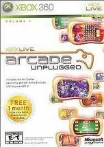 Xbox Live Arcade Unplugged Vol. 1 (Microsoft Xbox 360, 2006) G - $3.74