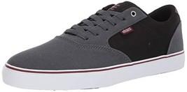 Etnies Men's Blitz Skate Shoe, Dark Grey/Black, 9.5 Medium US