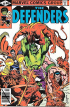 The Defenders Comic Book #80, Marvel Comics 1980 NEAR MINT - $3.25
