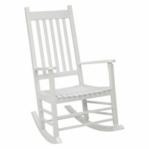 Outdoor Seating Furniture Weather Resistant Classic Look Rocking Chair ... - $101.99