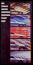 2000 Cadillac Salesman's Pocket Guide Book Brochure, Dealer only item - $4.93